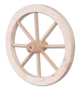 Drevené koleso 333