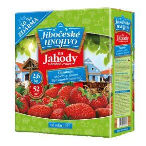 Forestina Na jahody a drobné ovocie 2,6 kg Juhočeské hnojivo
