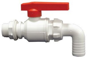 Plastový ventil 3/4´´