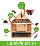 Domček pre hmyz veľký