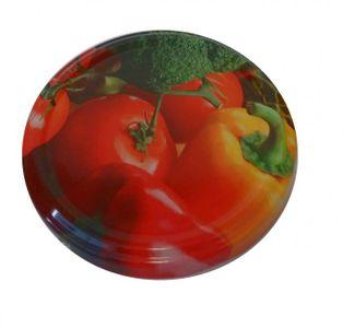 Viečka na zaváranie Twist 82 paradajka, paprika